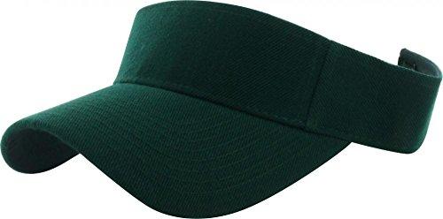 Jungle Green_(US Seller)Outdoor Sport Hat Sun Cap Adjustable Velcro