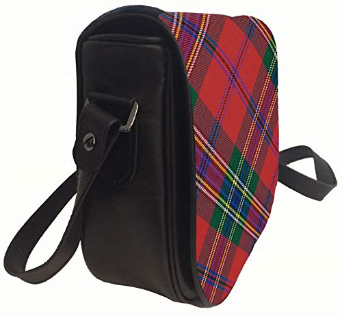 Modern Back And Tartan Bag Maclean Pocket Inside Dress Handbag Leather Shoulder qTIwfz1