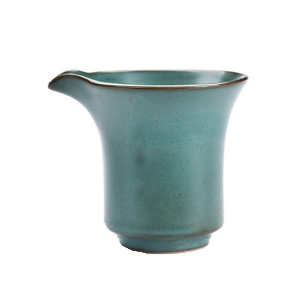 Kylin Express Vintage Handmade Ceramic Pottery Porcelain Tea Accessories,Chinese & Japanese Style Kungfu Tea Set#2