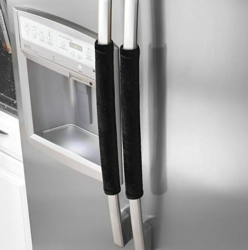 Refrigerator Door Handle Covers,Keep Your Kitchen Appliance Clean From Smudges, Fingertips, Drips, Food Stains, Perfect For Dishwashers by Evispo