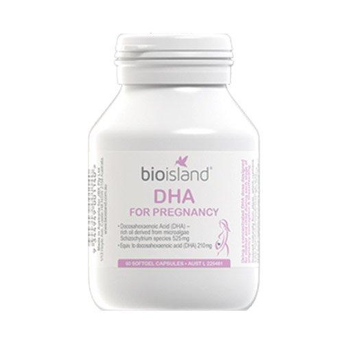 Bio Island DHA for Pregnancy 60 Capsules by Bio Island