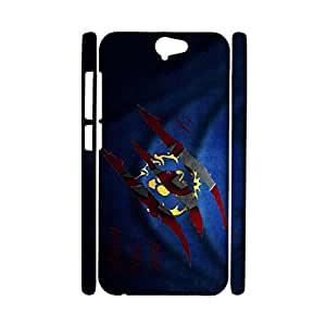 HTC One A9 Cell Cover Case,Customized Elegant Games Logo Printed Shell 3D Protective Case for HTC One A9 Phone Case