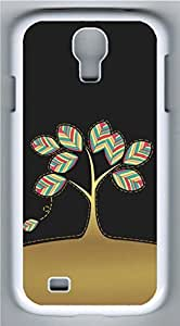 Samsung Galaxy S4 I9500 White Hard Case - The Color Of The Leaves Galaxy S4 Cases
