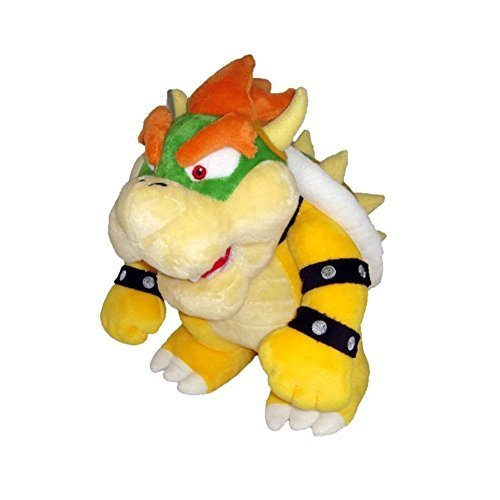 "FiraDesign Plush Toy 10"" Bowser Soft Stuffed Plush Toy - Yellow"