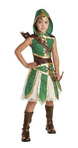 Happy Haunts Robin Hood Hero Costume, Medium 8-10 (Robin Hood Costumes Child)