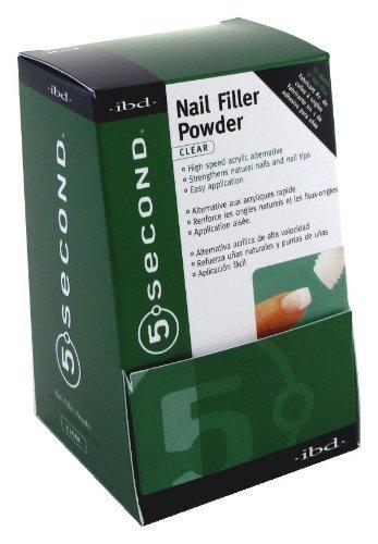 Ibd-5 Second Nail Filler Powder (Pack of 12) (Manikürewerkzeuge)