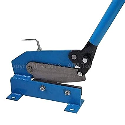180 mm Manual Placa soporte de metal tijeras de hojalatero de corte de chapa de acero