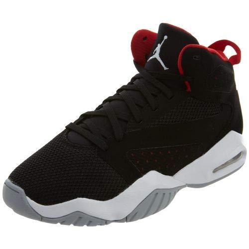 Nike Jordan Men's Jordan Lift Off Shoes, Black/White-University Red-Wolf Grey, 9