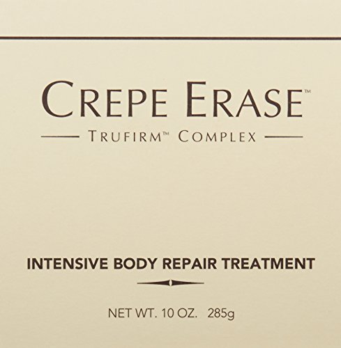 Crepe Erase – Intensive Body Repair Treatment – Smoothing Moisturizer – Shea Butter and Vitamin E for Dry Skin and TruFirm Complex – 10 Ounces – CS.0054 by Crepe Erase (Image #5)