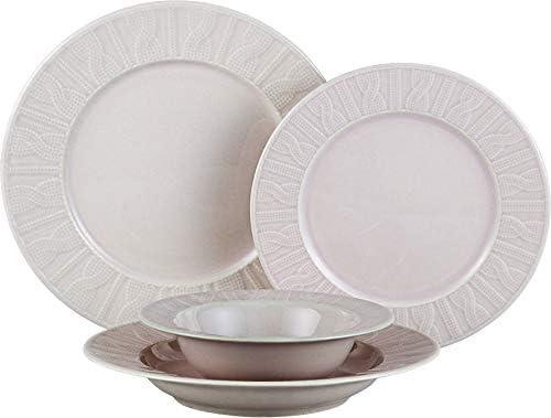 Kütahya Porcelana   24 piezas   Vajilla Plato Conjunto   redondo   6 ...