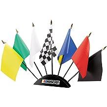 NASCAR 7-Piece Flag Desk Set