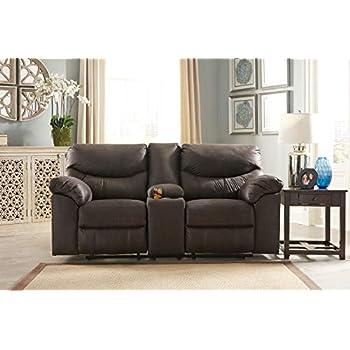 Amazon Com Ashley Furniture Signature Design Teak Boxberg