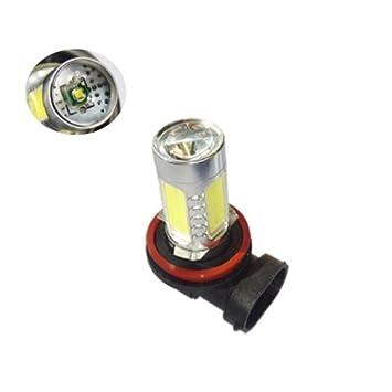 kmh11wh8 - Bombilla LED blanco High Power Cree H8 12 V 11 W: Amazon.es: Coche y moto