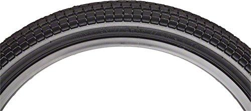 Odyssey Aaron Ross Black Keys BMX Tire 20'' x 2.1'' Black Reflective Stripe by Odyssey