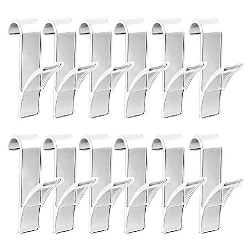Nesee 12PCS Self-Adhesive Towel Hook Wall Hook Hangers for Heated Towel Rails, Bathroom Kitchen Organizer,Towel Hook (Best Paint To Use On Radiators)