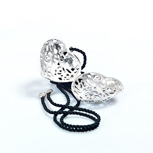Santa Maria Novella Cuore Argento Grande - Large Silver Heart (Perfume Maria Novella Santa)