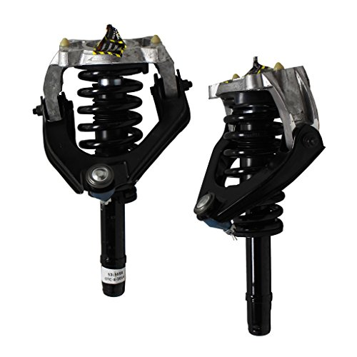 Front - Both (2) New Front Left & Right Side Complete Strut & Spring Assembly with Control Arm for Breeze Sebring Stratus Convertible/Sedan Only - Front