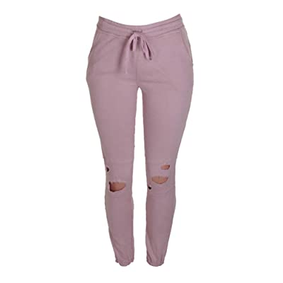 Material Girl Active Juniors' Ripped Sweatpants (S) at Women's Clothing store