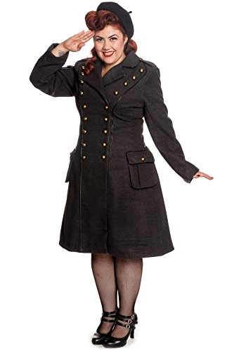 Hell-Bunny-Plus-Gothic-Gray-Steampunk-Military-Corset-Imma-Coat