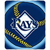 Tampa Bay Rays fleece blanket throw NEW