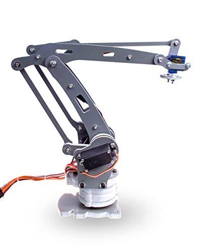 DIY 4-Axis Servos Control Palletizing Robot Arm Model