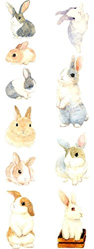 Fancy Bunnies Washi Tape