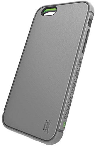 BodyGuardz - Shock Case for iPhone 6/6S, TPU Case with Impact-Absorbing Technology (Titanium Gray) by BodyGuardz
