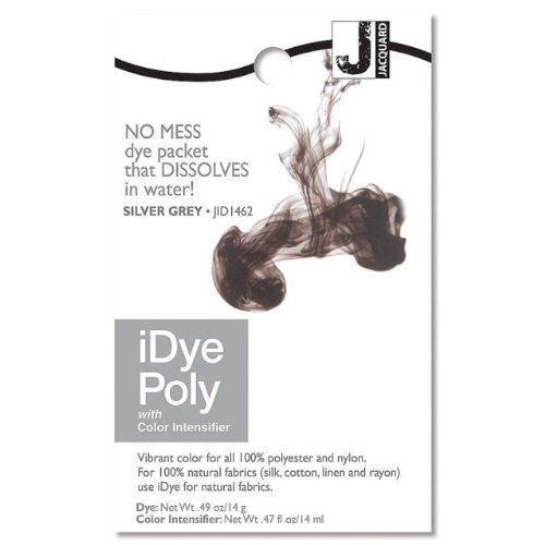 iDye Poly Silver Grey - For Polyester And Nylon Fabrics