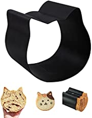 Yagor Cat Bread Mold, Cat Cake Mold, Non-Stick Loaf Pan with Lid, Toast Box Cute Baking Supplies for Bakeware Ovenware