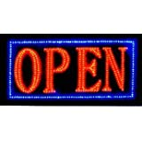 Open Sign Vivid Attention Catcher Animated LED Neon Business Light Classic Look By E-OnSale L32