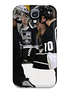 High-end Case Cover Protector For Galaxy S4(los-angeles-kings Los Angeles Kings (91) ) wangjiang maoyi