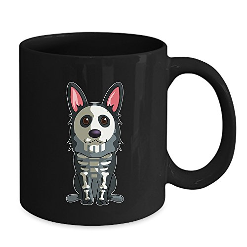 Skeleton Corgi Costume Mug - Skeleton Corgi Costume Halloween 2017 Mug