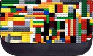 Building Toy PRINT Design Pencil Case by Rosie Parker Inc.