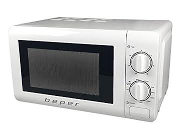Beper BF.550 Horno Microondas con grill, 20 Liters