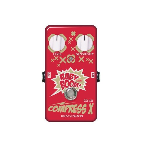 Biyang CO-10 Guitar Bass Effect Pedal Compress X True Bypass by Biyang