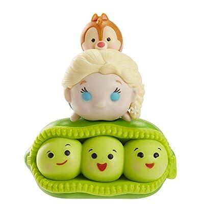 Tsum Tsum 3-Pack Figures:  Peas/Elsa/Dale: Toys & Games