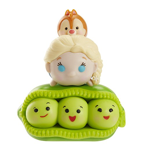 Tsum 3 Pack Figures Peas Elsa