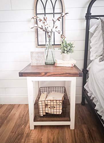 Bedroom Aurora Farmhouse nightstand farmhouse nightstands