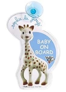 Amazon.com : Sophie the Giraffe Flash Baby on Board Sign ...