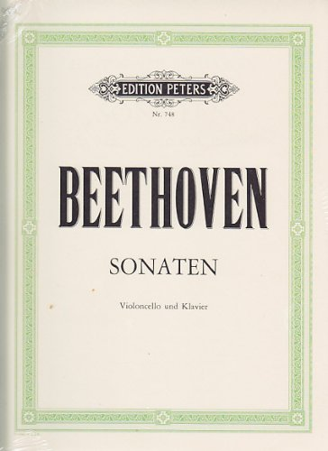 Beethoven: 5 Sonatas Op. 5/1,2 op 69, op.102/1,2 (Cello & Piano)