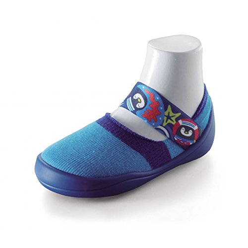 Feebee's Cool and Breathable Series - Oceanic Party Sock Shoes (MIT) (4.3''-5.2''(US 3~5)) by zaport