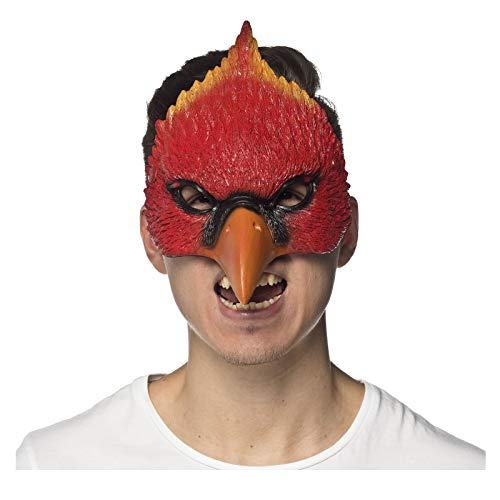 HMS Unisex-Adult's Supersoft Cardinal MASK, Red, One Size -