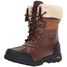 UGG Australia Kids Butte II Leather Boot