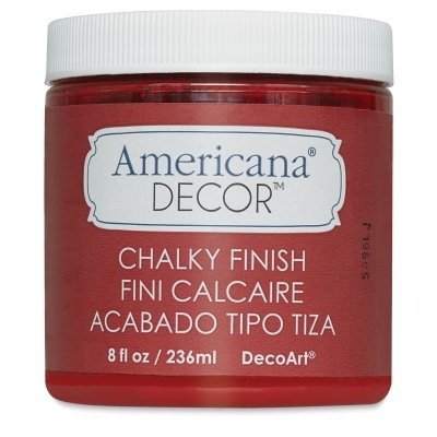 (Deco Art ADC-14 Americana Chalky Finish Paint, 8-Ounce, New Life)
