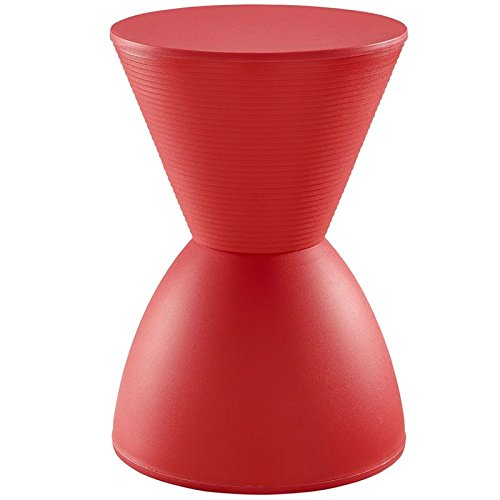 Modway Haste Stool in Red