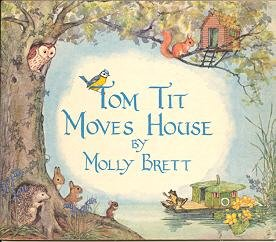 Tom Tit Moves House Brett 1962 Medici-Books -