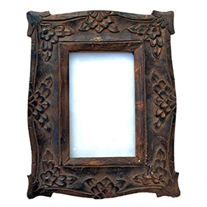 Amazoncom Javi Unique Wooden Photo Frame Collection Wall