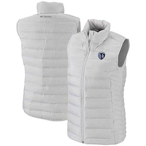 読むワイド憧れColumbia Columbia Sporting Kansas City Women's White Lake 22 Full-Zip Vest アウターウェア ジャケット/アウター 【並行輸入品】