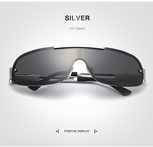 wqolutepce New Brown Fishing para Silver de Alta de Product Marca Driving Gafas Calidad lan HD Gafas Moda de Color Trends polarizadas Shuo Lens Sol Star Hombre zq5S0