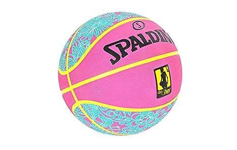 Spalding NBA 4her baloncesto deportes pelota rosa 83-050Z Tamaño 6 ...
